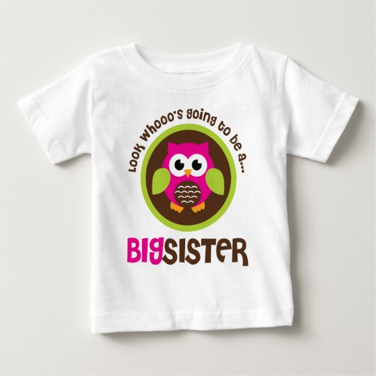 Look Whoos Going to be a Big Sister