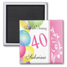 Look Who's 40   40th Birthday Magnet