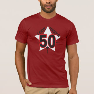 Look Who's 50 Years Old | 50th Birthday T-Shirt