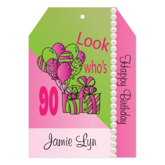 Look Who's 90 | 90th Birthday 13 Cm X 18 Cm Invitation Card