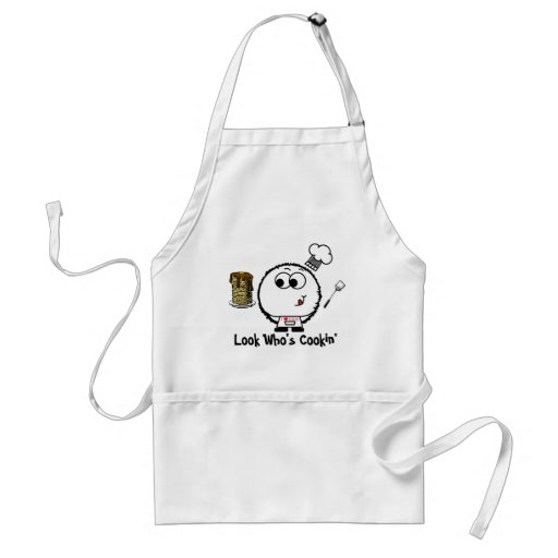 Look Who's Cookin' Weeble Apron