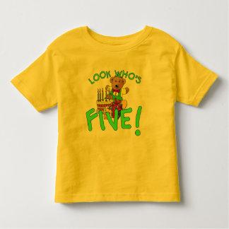 Look Who's Five Years Old! Tee Shirt