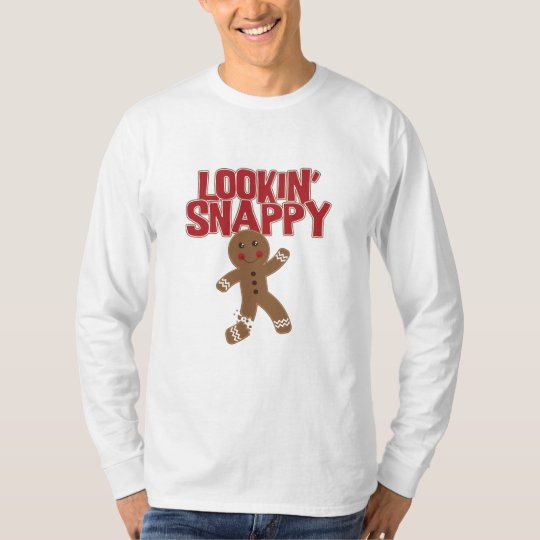 Lookin' Snappy Gingerbread Man T-Shirt
