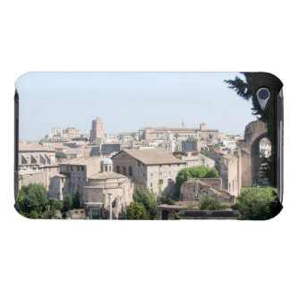 Looking at a section of the Rome Forum from the iPod Touch Case-Mate Case