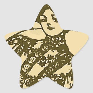 Looking at you gal star sticker