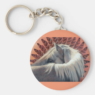 Looking Back - by Kathy Morrow Key Ring