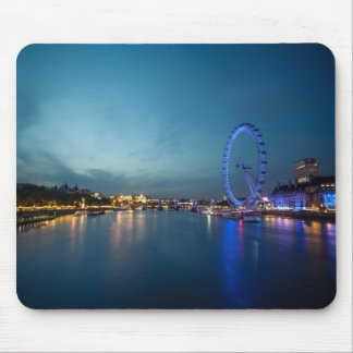 Looking down the Thames Mousepad