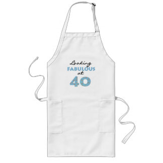 Looking Fabulous at 40 Long Apron