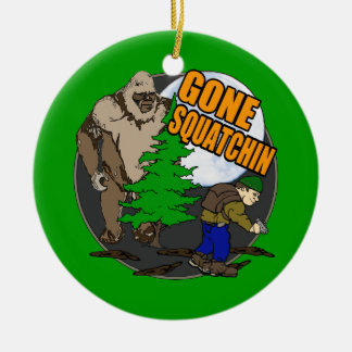 Looking for Bigfoot Christmas Ornament