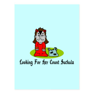 Looking For Count Suckula Post Card