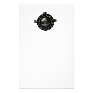 Looking for Direction Military Compass Drawing Personalised Stationery