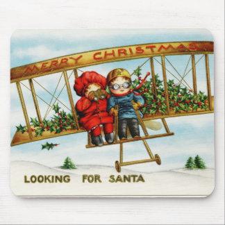 Looking for Santa vintage illustration Mousepads