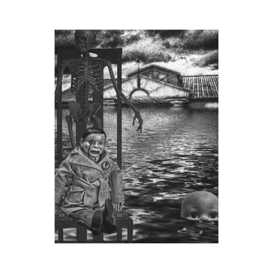Looking for the Ark! Canvas Print