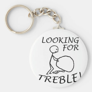 Looking For Treble Key Chains