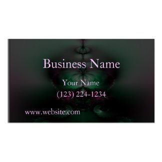 Looking Glass Business Card Template