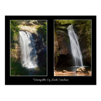 Looking Glass Falls and Courthouse Falls Postcard