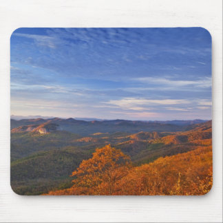 Looking Glass Rock at sunrise in the Pisgah Mouse Mat