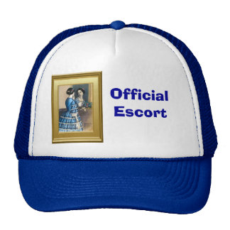 Looking in the mirror trucker hats