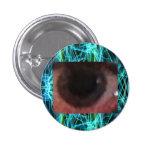 Looking Inside The Eye Pinback Button
