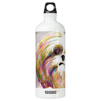 looking out the window of the car SIGG traveller 1.0L water bottle