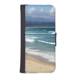Looking over a beautiful South African Beach Phone Wallet Cases