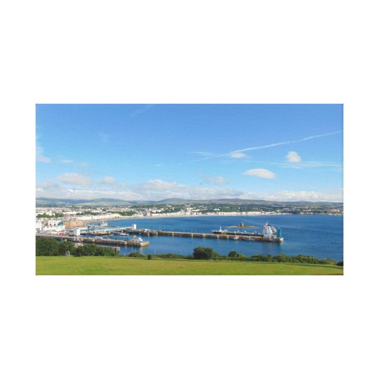 Looking Over Douglas Bay Canvas Print