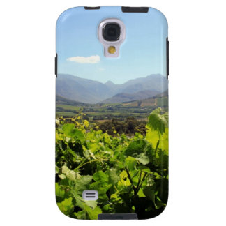 Looking over South Africa's vineyards Galaxy S4 Case