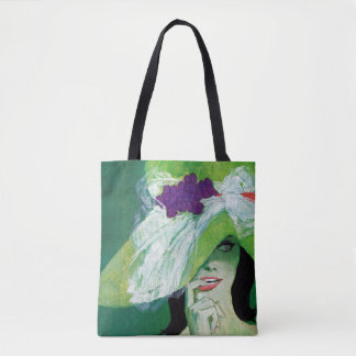 Looking the Other Way Tote Bag