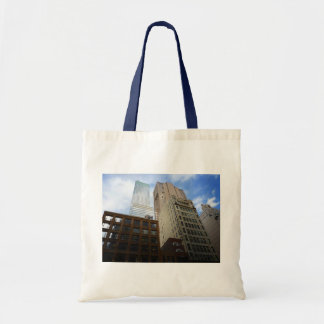 Looking Up at Skyscrapers, New York City Bag