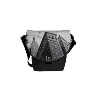 Looking Up - The Empire State Building - New York Courier Bag