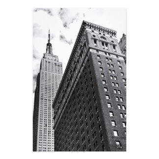 Looking Up - The Empire State Building - New York Stationery