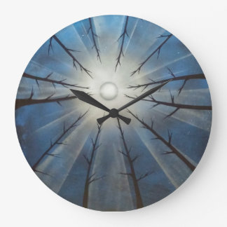 looking up trees round clock