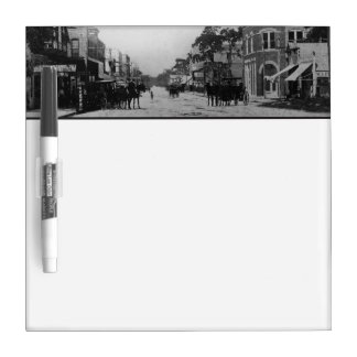 Looking West On Flagler Street Dry Erase Board