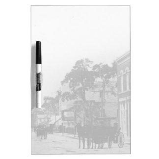 Looking West On Flagler Street Dry-Erase Board