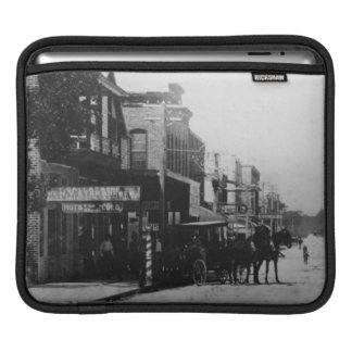 Looking West On Flagler Street iPad Sleeve
