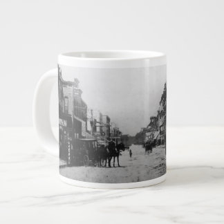 Looking West On Flagler Street Large Coffee Mug