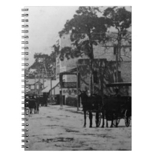 Looking West On Flagler Street Note Books