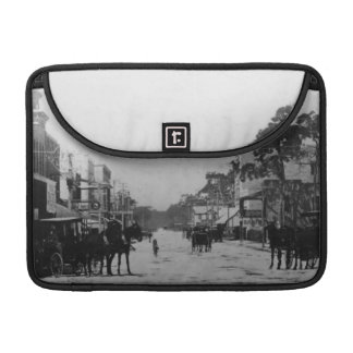 Looking West On Flagler Street Sleeve For MacBook Pro