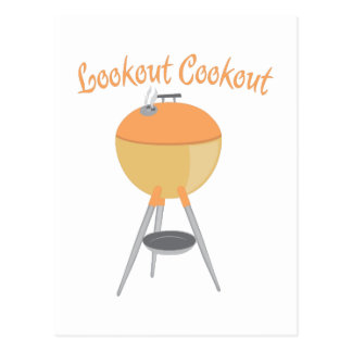 Lookout Cookout Post Cards