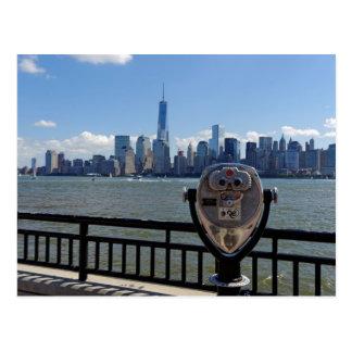 Lookout Manhattan Postcard