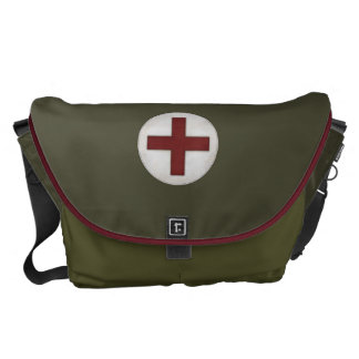 "Looks Like a ""Medical Kit"" Messenger Bags"