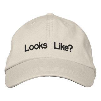 Looks Like? Embroidered Hats