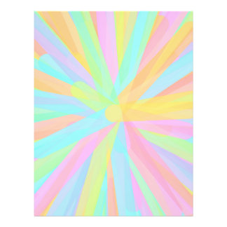 Looks Like Springtime - Colorful Abstract Custom Flyer