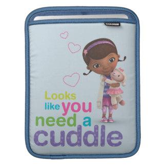Looks Like You Need a Cuddle iPad Sleeve