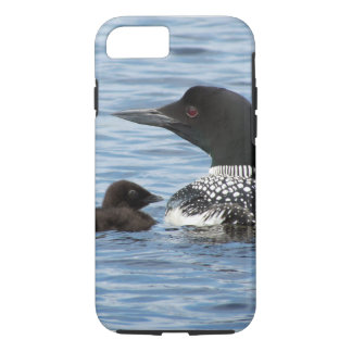 Loon and baby iPhone 7 case
