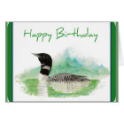 Loon Birthday Card
