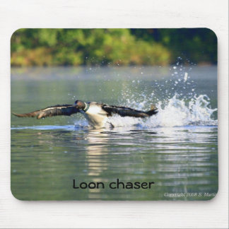 Loon chaser Mousepad