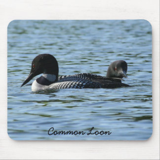 Loon Couple Mouse Pad