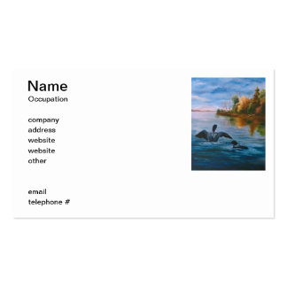 Loon Dance Business Cards
