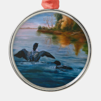 Loon Dance Ornament